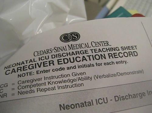Departure-discharge
