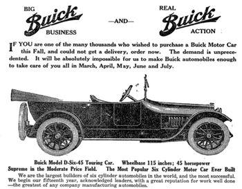Buick-shortage