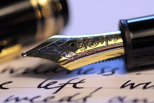 Letters-fountainpen