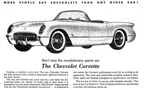 Corvettead-1953