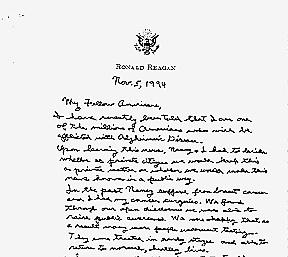 Reaganletter