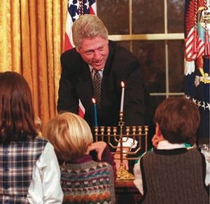 Clinton-hanukkah