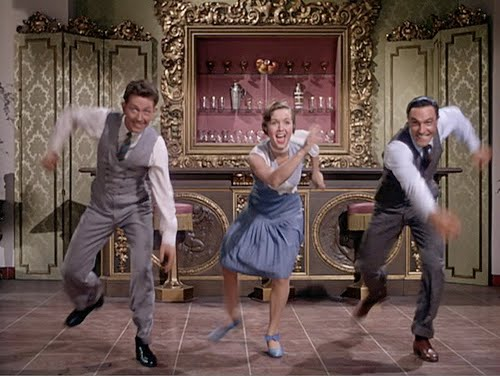 Debbie Reynolds Gene Kelly Singing in the Rain