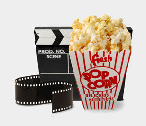 Popcorn-and-movie-hollywood