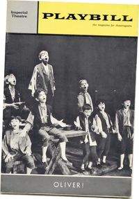 Oliver Playbill