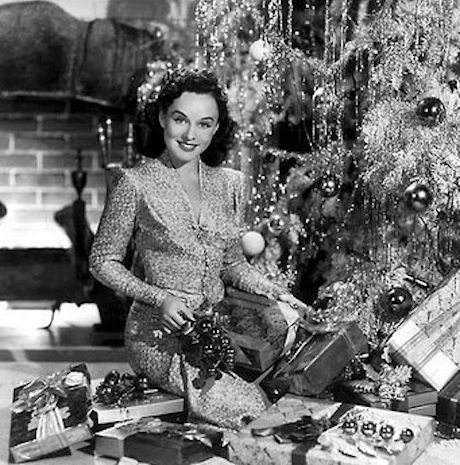 12412 next up in my hollywood jews celebrate christmas tribute is pauline levy aka paulette goddard okay only her dad was jewish and they were - Do Jewish Celebrate Christmas