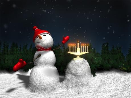 Christmas-hanukkah