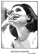 suzanne pleshette smoking
